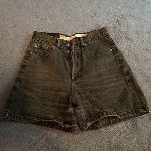 Light black denim jeans
